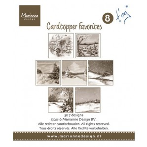 Marianne D Card Toppers Favorites - Tiny 2 CT1508 (new 07-16)