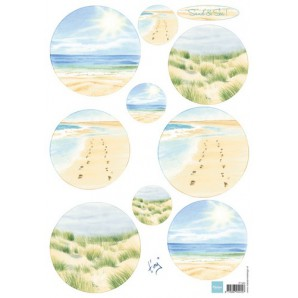 Marianne D 3D Knipvellen Tiny's Sand & Sea 1 IT585 (new 06-16)