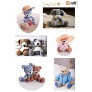 Marianne D 3D Knipvellen Beary cute A4 VK9544 (new 05-16)