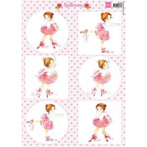 Marianne D 3D Knipvellen Balletdanseres VK9558 A4 (05-17)