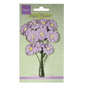 Marianne D Decoration Daisies - light lavender  RB2254 (New 03-16)