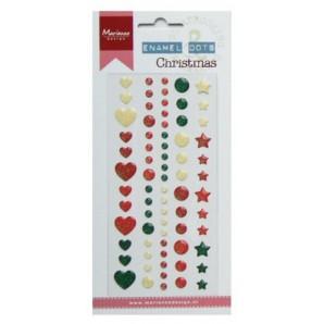 Marianne D Decoration Enamel dots - Christmas PL4509 (09-16)
