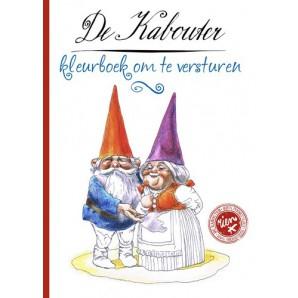 Kosmos Boek - De kabouter - Kleurboek om te versturen Poortvliet, Rien (new 06-16)