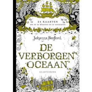 Kosmos Boek - De verborgen oceaan kaartenboek Basford, Johanna (new 06-16)