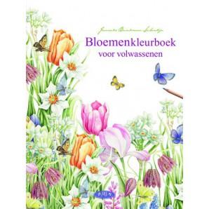 Kosmos Boek Bloemenkleurboek voor volwassenen Brinkman-Salentijn, Janneke (11-16)