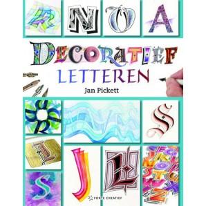 Forte Boek Dekoratief letteren (NL) Jan Pickett (10-16)