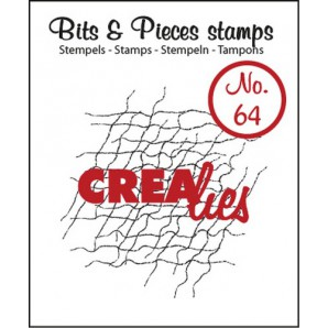 Crealies Clearstamp Bits&Pieces no. 64 42x43mm / CLBP64 (04-17)