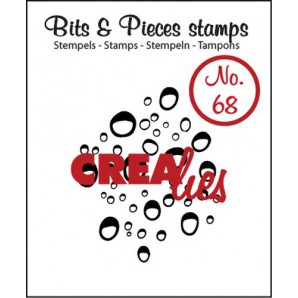 Crealies Clearstamp Bits&Pieces no. 68 32x39mm / CLBP68 (04-17)
