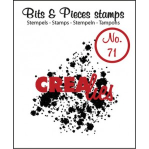 Crealies Clearstamp Bits&Pieces no. 71 39x43mm / CLBP71 (04-17)