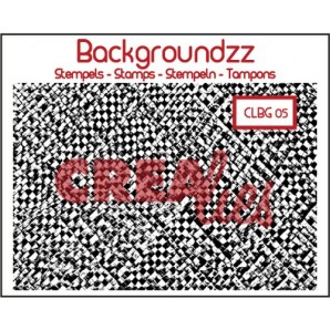 Crealies Clearstamp Backgroundzz 05 bamboo mat 95x135mm / CLBG05 (10-16)