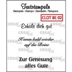 Crealies Clearstamp Tekst (DE) Besserung 02 max 33mm  / CLDTBE02 (10-16)