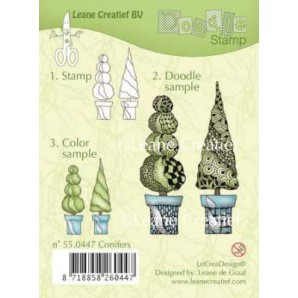 Doodle clear stamp Conifers 550447