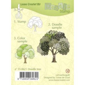 Doodle clear stamp Tree 550621