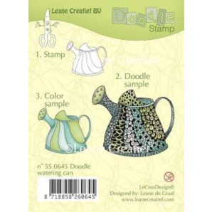 Doodle clear stamp Watering can 550645