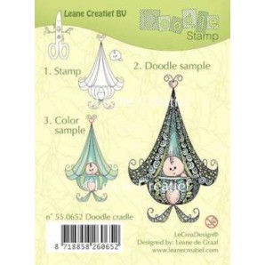 Doodle clear stamp Cradle 550652