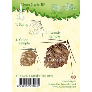 Doodle clear stamp Pine cone 550935
