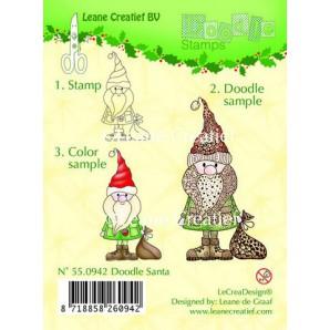 Doodle clear stamp Santa 550942
