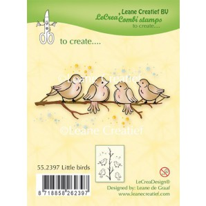 LeCrea - Clear stamp Little birds 55.2397 (08-16)