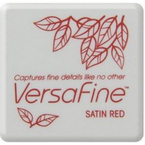 Versafine inktkussen Satin red VF-SML-010