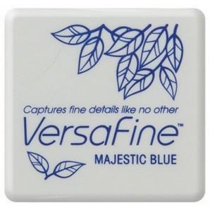Versafine inktkussen Majestic blue VF-SML-018