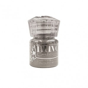 Nuvo Embossing poeder - classic silver 601N