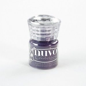 Nuvo Embossing poeder - purple haze 610N
