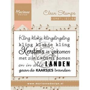 Marianne D Stempel Kerstlied - Kling klokje (NL) CS0946