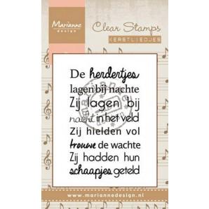Marianne D Stempel Kerstlied - De herdertjes (NL) CS0947