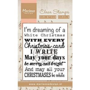 Marianne D Stempel Christmas carol - White Christmas (UK) CS0948