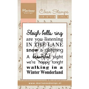 Marianne D Stempel Christmas carol - Winter wonderland (UK) CS0949
