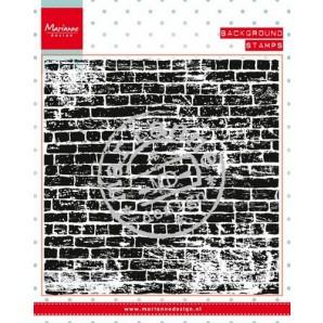 Marianne D Stempel achtergrond stenen muur CS0956 (New 03-16)