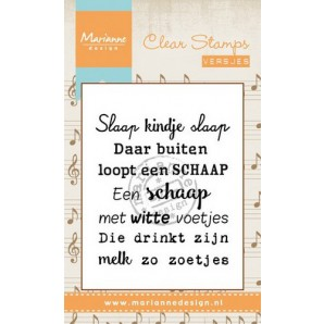 Marianne D Stempel Liedje Slaap kindje slaap (NL) CS0961 (New 03-16)