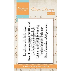 Marianne D Stempel Song Twinkle twinkle little star (EN) CS0966 (New 03-16)