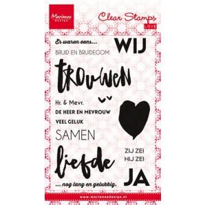 Marianne D Stempel Bruid en Bruidegom (NL) CS0974 (New 07-16)