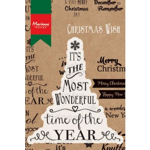 Marianne D Stempel Most wonderful time of the year (Eng) CS0978 (10-16)