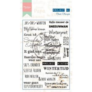 Marianne D Stempel Project NL - Winter (NL) PL1517