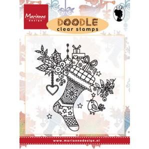 Marianne D Stempel Doodle - Kerstsok EWS2223 (08-16)
