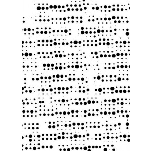 Nellies Choice Plastic Mixed media stencil A5 - pattern 2 NMMS009 (08-16)