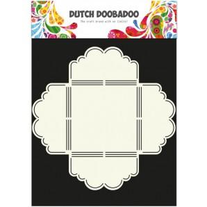Dutch Doobadoo Dutch Envelop Art Scallop 3  A4 470.713.020