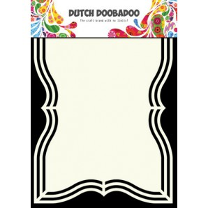 Dutch Doobadoo Dutch Shape Art frames rechthoek ornament 4  A5 470.713.131