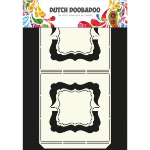 Dutch Doobadoo Dutch Card Art stencil harmonica A4 470.713.313 (09-16)