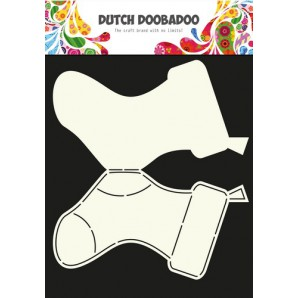 Dutch Doobadoo Dutch Card Art Stencil sokken  A4 470.713.603 (07-16)