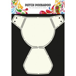 Dutch Doobadoo Dutch Card Art Stencil luier  A4 470.713.615 (10-16)
