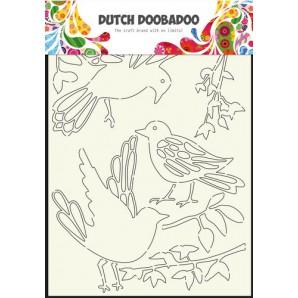 Dutch Doobadoo Dutch Stencil Art stencil Art Vogels A4 470.715.807 (07-16)