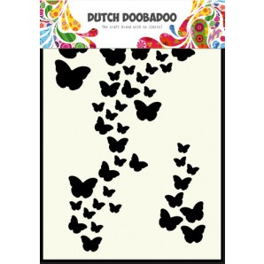 Dutch Doobadoo Dutch Mask Art stencil vlinders A6 470.741.003
