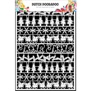 Dutch Doobadoo Dutch Paper Art kerst - A5 472.948.043 (10-16)