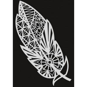 Pronty Mask stencil - Veer zentangle 470.802.056   A5 (03-17)
