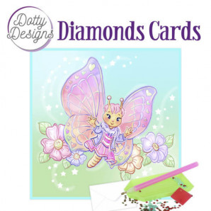 Dotty Designs Diamond Cards - Butterfly