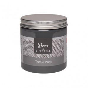 Deco & Lifestyle Textielverf 230 ml - Zacht zwart 24302