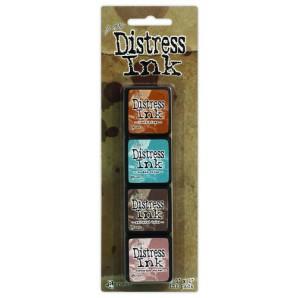 Ranger Distress Mini Ink Kit 6 TDPK40361 Tim Holtz